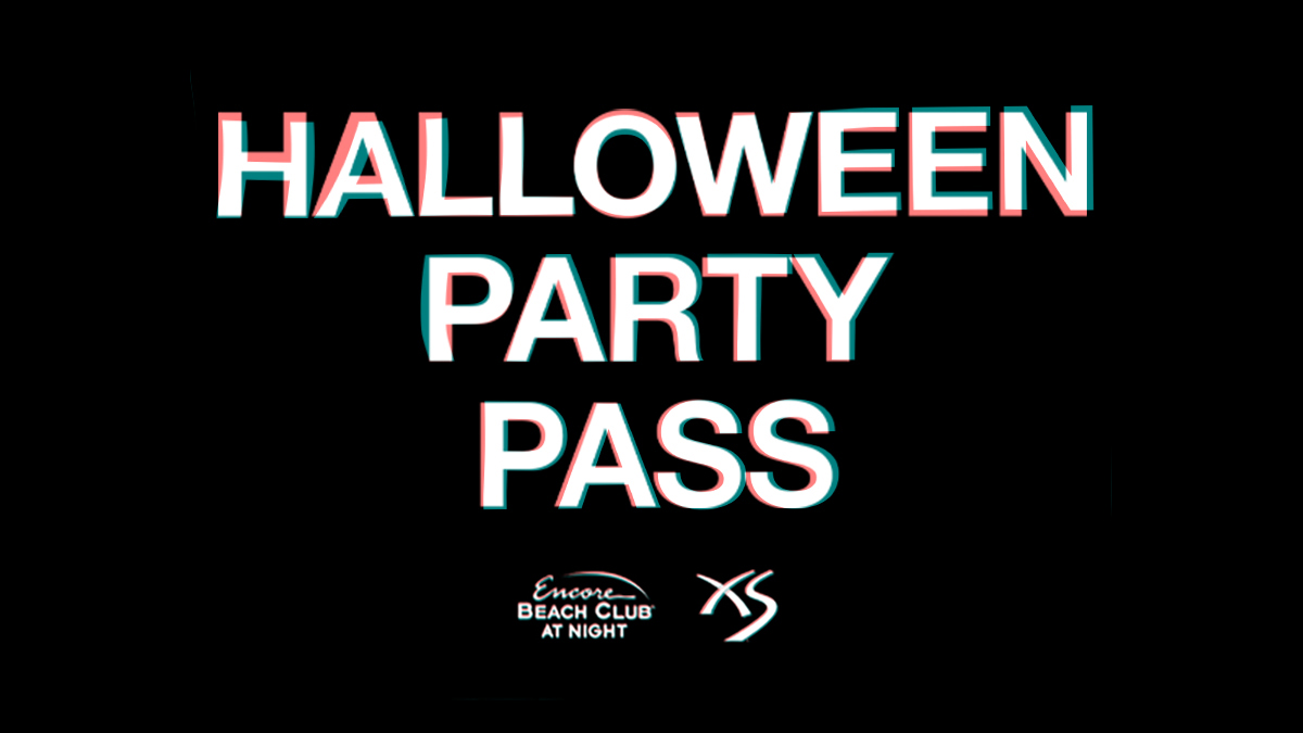 Halloween Party Pass